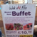 Buffet-Angebot - Wok on Fire - Wr. Neudorf