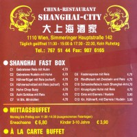Shanghai-City - Flyer 01 - Shanghai-City - Wien