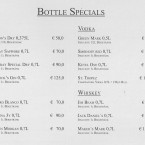 Bottle Specials - Hemingway American Bar - Graz