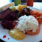 Salatbuffet - New Point Restaurant - Wien
