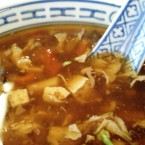 Kowloon - Pikant-Saure Suppe (EUR 2,30) - Kowloon - Wien