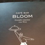 Speisekarte - Cafe Bar Bloom - Wien