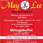 May Lee Flyer Seite 1 - May Lee - Wien