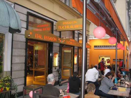 Eissalon Tuchlauben Wien Fotos Restauranttesterat