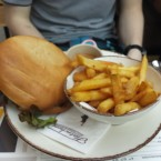 Cheeseburger - Flatschers Bistrot & Bar - Wien