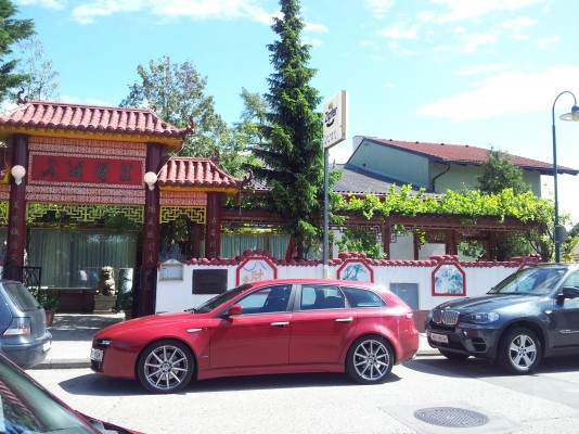 Eingang - China-Restaurant Lin-House - Brunn am Gebirge