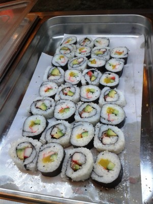 Green 1020 - Futo-Maki-Buffet - Restaurant Green - Wien