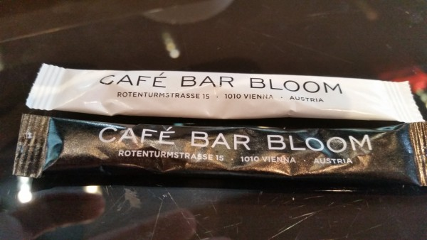 Hauseigener Zucker - Cafe Bar Bloom - Wien