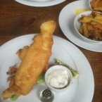 Fish n Chips - O'Connors Old Oak - Wien