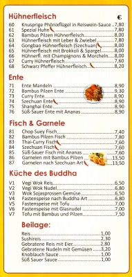 Lucky Friend - Flyer Seite 3 - China-Restaurant Lucky Friend - Wien