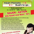 Asian Pockets Speisekarte Seite 1 - Asian Pockets - Wien
