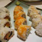 Tempura Roll Mini California Roll Aroma Roll - KOINONIA - Wien