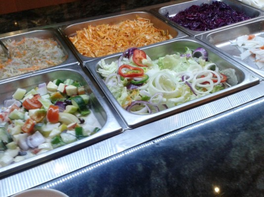 Green 1020 - Salat-Buffet - Restaurant Green - Wien