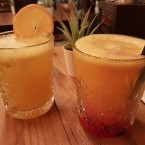 Whisky Sour + Tequila Sunrise - Andys & Mikes - Wien
