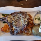 Prime Rib Eye Steak 800 Gramm - Clocktower American Bar & Grill - Wien-Süd - Brunn am Gebirge