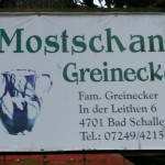 Mostschank Greinecker