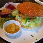 Chicken Satay Burger - Delicious Monster -  Wien