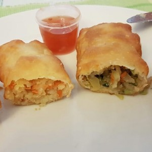 Imperial- u. Vegetable-Roll, beide sehr gut - Chen's Cooking - Wien