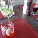 Campari Soda + Hugo - Restaurant Fratelli - Berndorf
