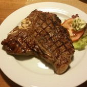 T-Bone Steak 600 Gramm - Rocky Docky's Western-Steak-House - Wien