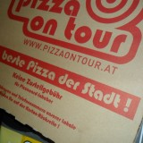 """die beste Pizza der Stadt"" - Pizza on tour express - Wien"