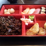 Bulgogi Bento - Lucky Food - Schwechat