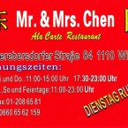Mr. Chen Mr. & Mrs. Chen-Visitenkarte - Mr. Chen - Wien