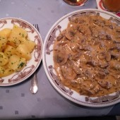 Filetspitzen Stroganoff (Dailydeal-Gutschein-Menü) - Texas Steak House - Wien