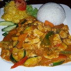 Thai Red Chicken Curry - Goa - Wiener Neudorf