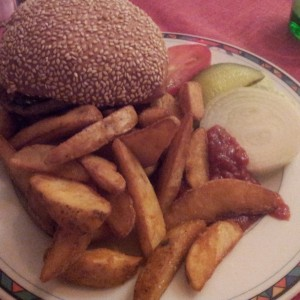 Cheeseburger - Sparky's Unlimited Bar & Grill - Wien