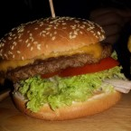 Cheeseburger - The Golden Harp Meidling - Wien