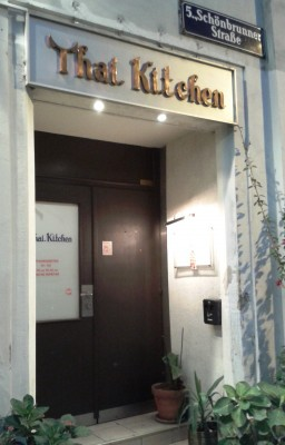 Thai Kitchen Lokaleingang - Thai Kitchen Restaurant - Wien