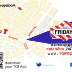 TGI Friday's Visitenkarte - TGI Friday's - Wien