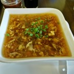 Soup hot and sour - Wok City - Graz