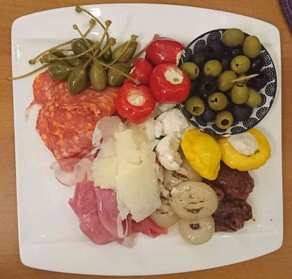 Antipasti-Teller - Rainer's Bar - Steyr