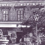 Wortner Visitenkarte 2 - Café Wortner - Wien