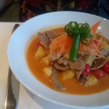 "Kaeng Phet Pet Yang - Rotes Thai Curry mit Entenbrust - Buffet-Restaurant ""China Grill"" - Bad Erlach"