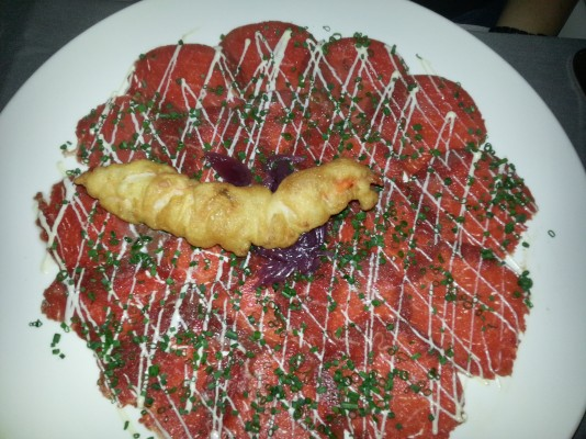 Rinds Carpaccio - Do & Co Stephansplatz - Wien