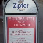 Mittagsbuffet - India Gate - Wien