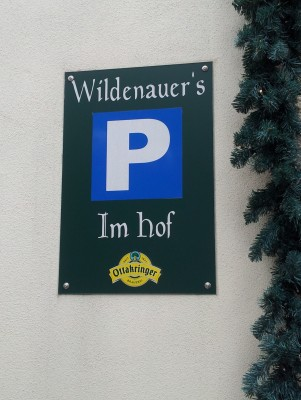 Parkplatz - Gasthof Pension Wildenauer - Biedermannsdorf