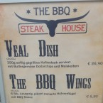Austeller mit Speisenauswahl - The BBQ Steak House - Biedermannsdorf