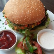Veggie Burger - Delicious Monster -  Wien