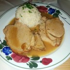 Kalbsbraten mit Reis - Jausenstation Fam Reischer - Furth an der Triesting