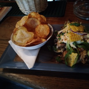 Open Jerk Chicken Sandwich