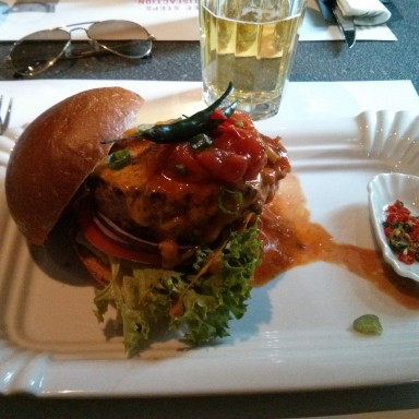 Chilli Burger - said the butcher to the cow - Wien