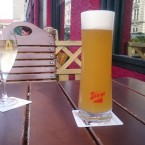 0,5 draught Stiegl Columbus Pale Ale, white wine spritzer - O'Connors Old Oak - Wien