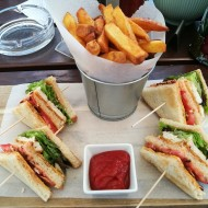 Club Sandwich € 8,50 - Bar28 - Graz