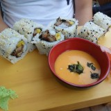 Maki mit knuspriger Ente - Eat Point 280 - Wien