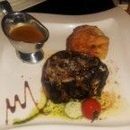 Tender Loin Steak (450g), Potato Gratin, Soft Pepper Sauce - Harley Davidson - Clocktower American Bar & Grill - Graz