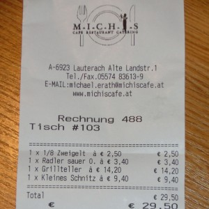 Michis Cafe - Lauterach